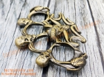 Antique Skull Spiked Copper Colour Thick Metal knuckleduster-- knuckles knucks knucklering knuck knucksale knucksdaily knuckporn tactical everydaycarry everyday_tactical selfdefense edcsale gearsale pocketdump metal brassknuckles skull