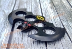 Batman Themed Metal knuckleduster-- knuckles knucks knucklering knuck knucksale knucksdaily knuckporn tactical everydaycarry everyday_tactical selfdefense edcsale gearsale pocketdump metal brassknuckles skull