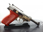 WALTHER electronic gas lighter P-38 Gun pistol model / Jetflame / Refillable