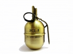 Copper metal  Military Grenade Flash bomb Smoke bomb model lighters ashtray 812 Russian RGD