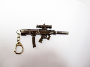 Counter strike Simulation M4 CQBR gun keychain Fashion Classic AK 47 Assault rifle MP5 02 rifle Cute Mini Version  Llavero