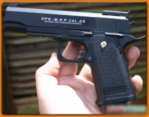 C6 Galaxy Full metal air soft BB pellet  pistol gun india  ( Model :- OPS-M.R.P. CAL .45 NM-2010-03A/506350 OPS-8740012 )
