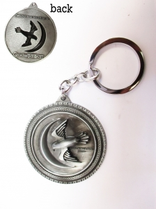 Game of thrones House Arryn Keychain Metal Key Rings For Gift Chaveiro Key chain Jewelry for cars