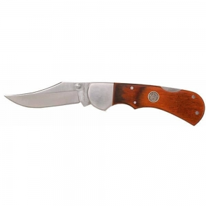 SARGE SK-404 Gambler Lock Back Wooden Folding Knife