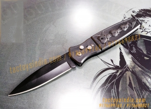 3 Skulls Tuff Lite Drop Point Folding Pocket Knife
