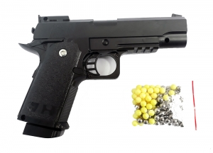 M 20 Full metal air soft BB pellet pistol gun india (Model no.:-OPS-M.R.P. CAL .45 NM-2010-03A/506350 OPS-8740012)