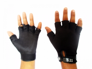 5.11 Tactical Half-Hand 2 Layers Black Gloves