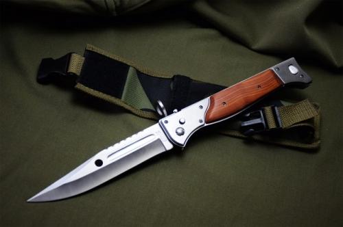 Big Cccp Ak 47 Edc Bayonet Folding Blade Knife Ak47 Scout